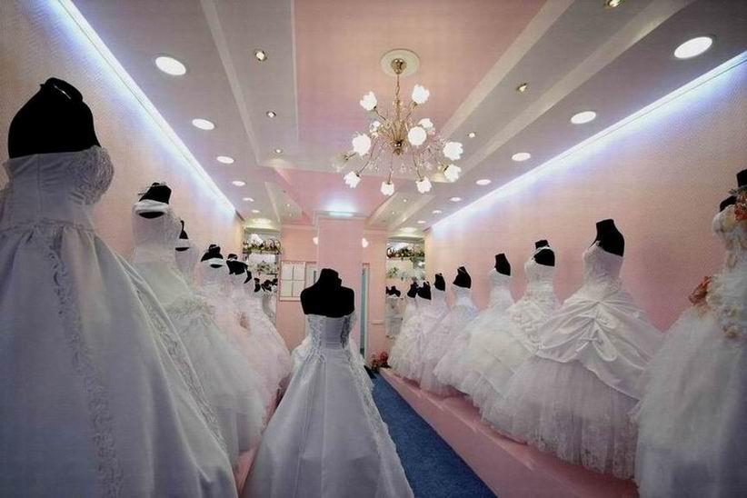 Как обнаружить свадебный салон