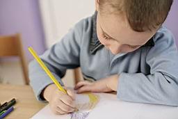 Тестировании малышей для школы