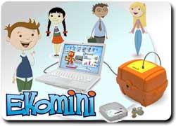 Электронная обучающая копилка для деток