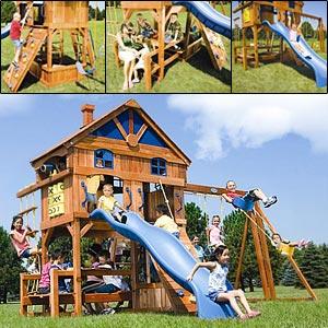 Платная игровая площадка для деток